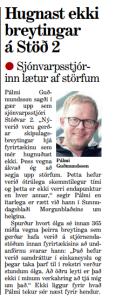Pálmi Guðmundsson hættir