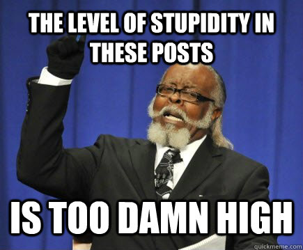 Level of stupid