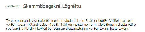 Vísindaferðir Lögrétta