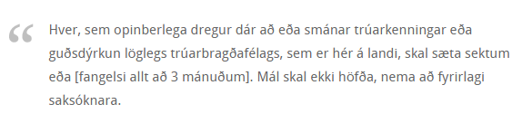 Guðlastsákvæðið