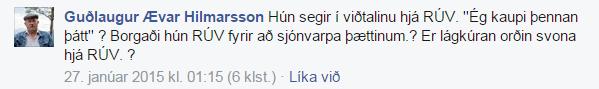 GuðlaugurÆvarHilmarssonum ElísabetuJökuls